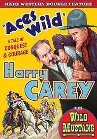 Aces Wild/Wild Mustang - (Region 1 Import DVD)