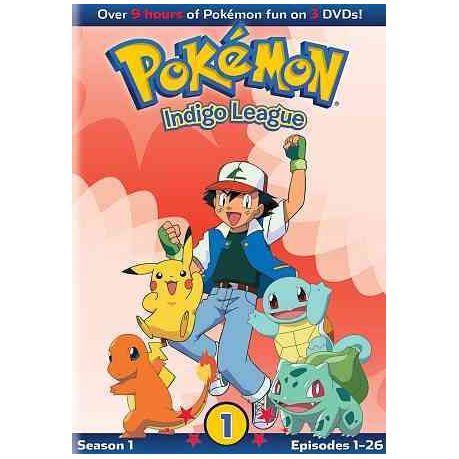 pokemon season 1 indigo league part 1 region 1 import dvd buy