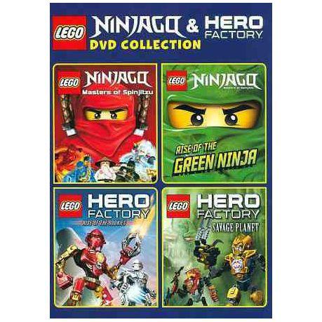 Legoninjago And Hero Factory Dvd Col Region 1 Import Dvd Buy