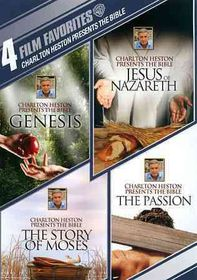 4 Film Favorites:Charlton Heston Presents The Bible - (Region 1 Import DVD)