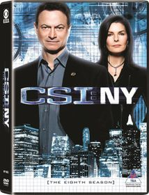 CSI New York Complete Season 8 (DVD)