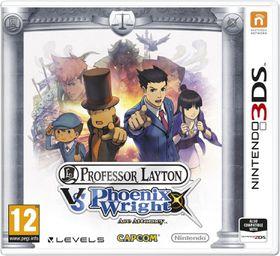 Professor Layton vs Phoenix Wright Ace Attorney (3DS)