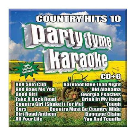 Various - Party Tyme Karaoke: Country Hits 10 (CD)