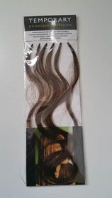 Bling Highlights - Dark Brown Body Wave - 6 Piece Human Hair