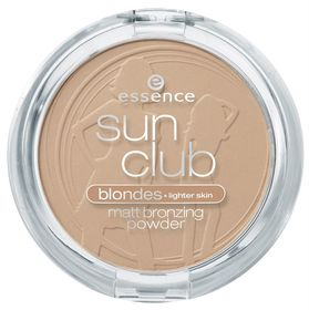 Essence Sun Club Matt Bronzing Powder - 01 Bronzing Light