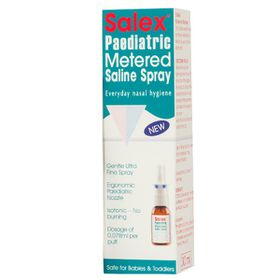 Salex Paediatric Metered Saline Spray - 30ml