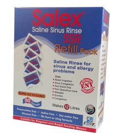 Salex Saline Sinus Rinse Refill Kit