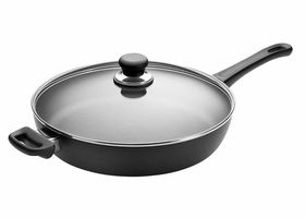 Scanpan - Classic Saute Pan With Lid Black - 32cm