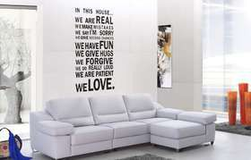 Fantastick - In This House Vinyl Wall Poetry