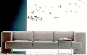 Fantastick - Fly Away Birds Vinyl Wall Art