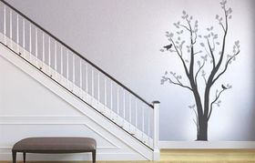 Fantastick - Silver Birch Tree Vinyl Wall Art