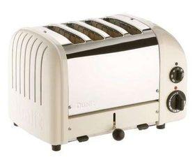 Dualit - 4 Slice Classic Toaster - Cream