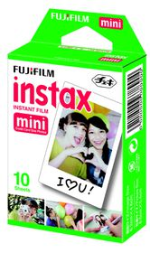 Fujifilm Instax Mini Film Plain Pack of 10