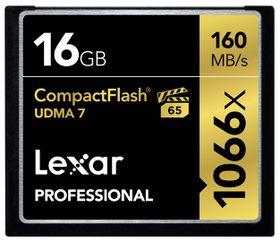 Lexar 16GB Professional 1066x UDMA 7 Compact Flash Card