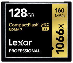 Lexar 128GB Professional 1066x UDMA 7 Compact Flash Card