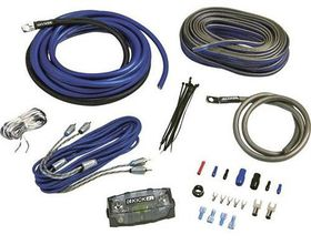 Kicker - K-Series 4AWG Amp Kit W/2CH Interconnects