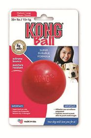 Kong - Dog Toy Interactive Ball - Small - Red