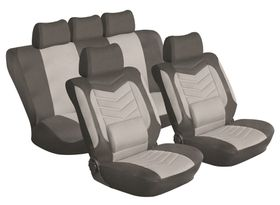 Stingray - Grandeur 11 Piece Car Seat Cover Set - Grey
