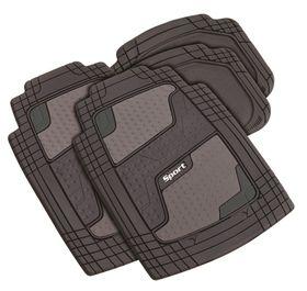 Stingray - Quadrimat 4 Piece Car Mat Set - Grey
