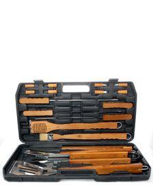 Alva - Deluxe BBQ Wood Set - 21 Piece
