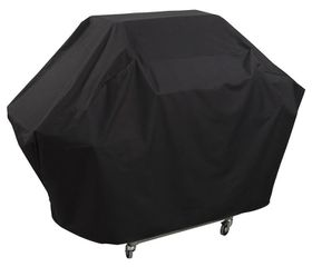 Alva - 4B Hooded BBQ Cover - Black