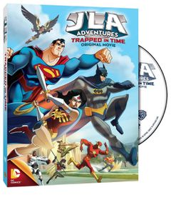 Justice League Adventures: Trapped In Time (DVD)