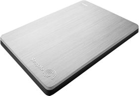 "Seagate 2.5"" Backup Plus Portable Drive - 1TB Silver"