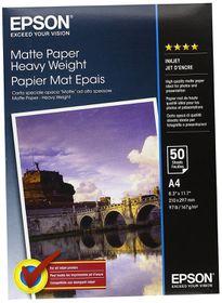 Epson Matte 167gsm Inkjet Paper - A4 (50 Sheets)