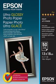 """Epson Ultra Glossy 5x7"""" Photo Paper (50 Sheets)"""