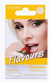 Contempo Flavours Condom 3's