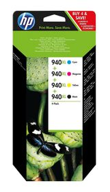 HP 940XL Combo-Pack Officejet Ink Cartridges