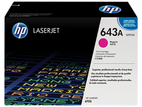 HP 643A Magenta LaserJet Toner Cartridge