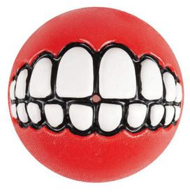 Rogz - Grinz 49mm Dog Treat Ball - Red