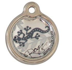 Rogz - ID Tagz Small Metal Tag - Silver