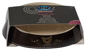 Rogz - Bowlz 200ml Fishcake Bowl - Bronze Filigree
