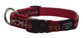 Rogz - Fancy Dress 20mm Dog Collar - Red Heart