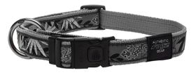 Rogz - Fancy Dress 25mm Dog Collar - Silver Gecko