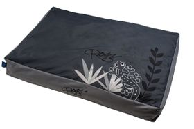 Rogz - 83cm x 56cm x 10cm Dog Bed - Silver Gecko