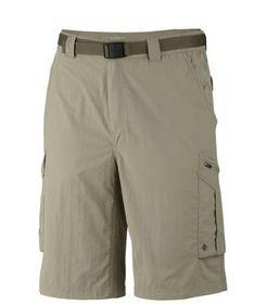 Columbia Silver Ridge Cargo Shorts - Tusk
