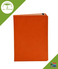 Eco Notebook Hard Cover A5 - Orange