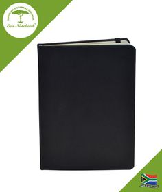 Eco Notebook Hard Cover A5 - Black