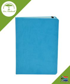 Eco Notebook Hard Cover A5 - Cyan