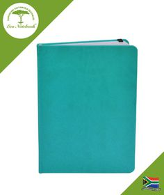 Eco Notebook Hard Cover A5 - Turquoise