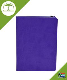 Eco Notebook Hard Cover A5 - Purple