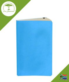Eco Journal Soft Cover A5 - Cyan