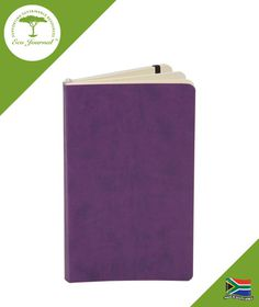 Eco Journal Soft Cover A5 - Purple