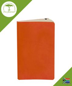 Eco Journal Soft Cover A5 - Orange