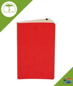 Eco Journal Soft Cover A5 - Red