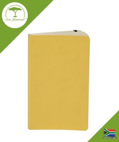 Eco Journal Soft Cover A5 - Yellow