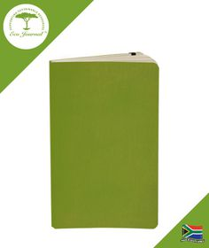 Eco Journal Soft Cover A5 - Lime Green